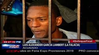 Envían a prisión a sospechoso de tirotear a oficial asignado a seguridad de padres de primera dama