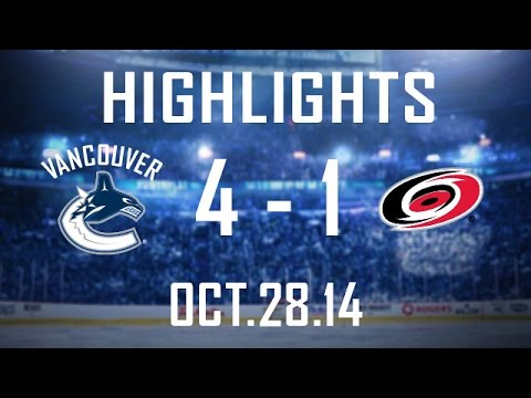 Canucks - Ryan Miller gets his 300th career victory, Brad Richardson scores his first 2 goals of the season, and Linden Vey tallies his 3rd power-play goal of the year as the Canucks prevail over the...