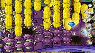 PLANTS VS ZOMBIES 100%  290 MAZORCAÑONES  BANDERAS 103981590 - 103981602