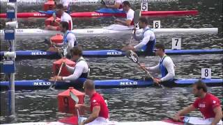2015 Duisburg K2 200m Men Canoe Sprint World Cup 2