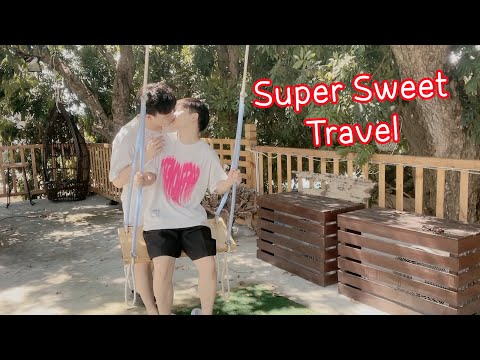Super Sweet Travel💕 Walking On The Beach With You🌊🌴[Gay Couple Lucas&Kibo BL]