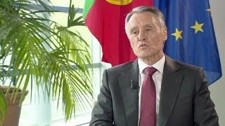 """Re-think the role of the troika"" Portuguese president tells euronews"