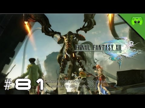 FINAL FANTASY 13 # 81 - Das Psikom wehrt sich «»  Let's Play Final Fantasy 13 | HD