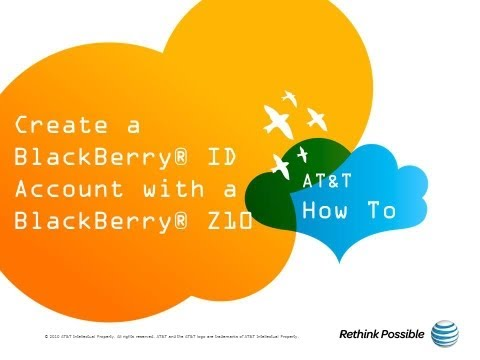 how to create blackberry id