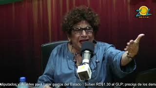 Consuelo Despradel comenta resultados de encuesta coloca a Leonel Fernandez por encima de Danilo