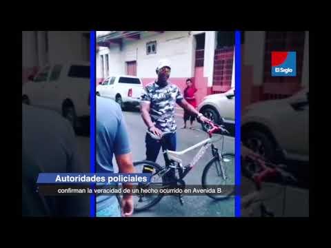 Autoridades policiales confirman la veracidad de un hecho ocurrido en Avenida B.