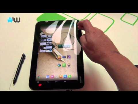 Korte hands-on met nieuwe Toshiba-tablets op IFA 2013