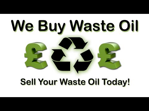 We Buy Waste Oil - Sell Your Waste Oil Today!