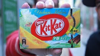 Yubari Japan  city photo : Yubari Melon Kit Kat - Crazy From Kong Review (Japan) !!