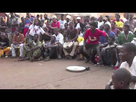 "Dununba #1 ""HD""   Djembe drum and dance party in Conakry, Guinea"