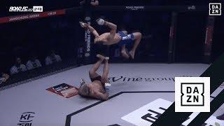 Narwany gość w MMA. Dosłownie latał w oktagonie