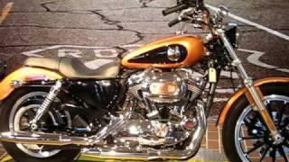 5. 2008 Harley-Davidson Sportster Low XL1200L Anniversary Copper & Vivid Black