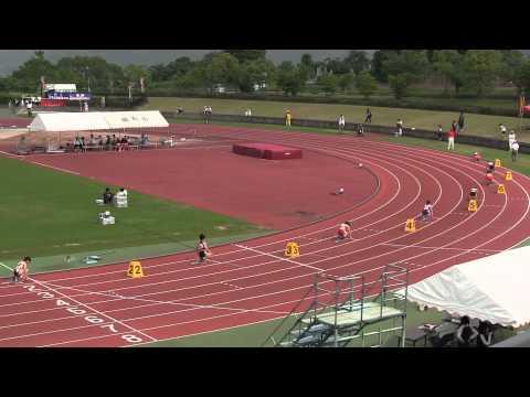 2011佐賀県高校総体 女子400m決勝