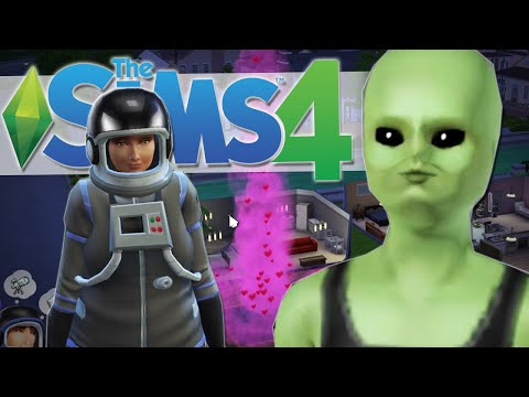 ALIEN ABDUCTION?! | The Sims 4 Gameplay #22