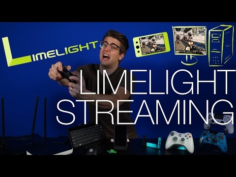 streaming - Is the a budget solution to the NVIDIA Shield? We checked out Limelight Game Streaming to see how it compares. We threw in a few game controllers, wireless keyboards, mice, and a few routers...