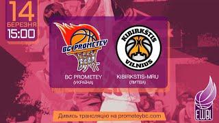 Prometey – Kibirkstis-MRU – EWBL 2020/21