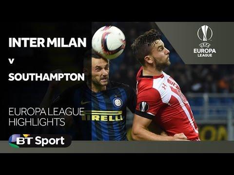Inter Milan 1-0 Southampton Highlights HD