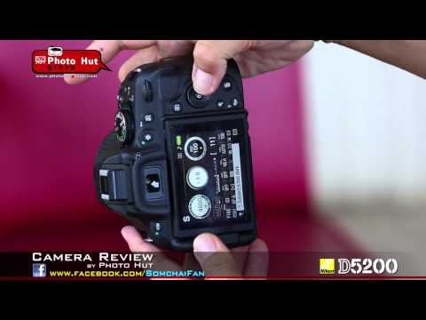 Nikon D5200 Review Thai