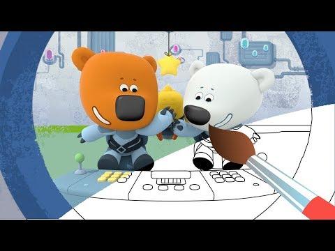 Все серии - Сборник 2 Раскраска с Ми-ми-мишками - Мультики видео