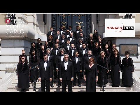FLASHMOB - Choeur de l'Opéra de Monte Carlo - MONACO INFO