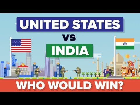 United States USA vs India 2017 - Who Would Win - Army  Military Comparison