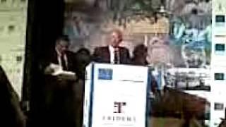 Dr Ashok Receives We Care 1st Prize  At Mumbai Marathon 2010
