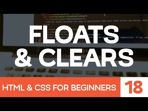 HTML & CSS for Beginners Part 18: How Floats and Clears work