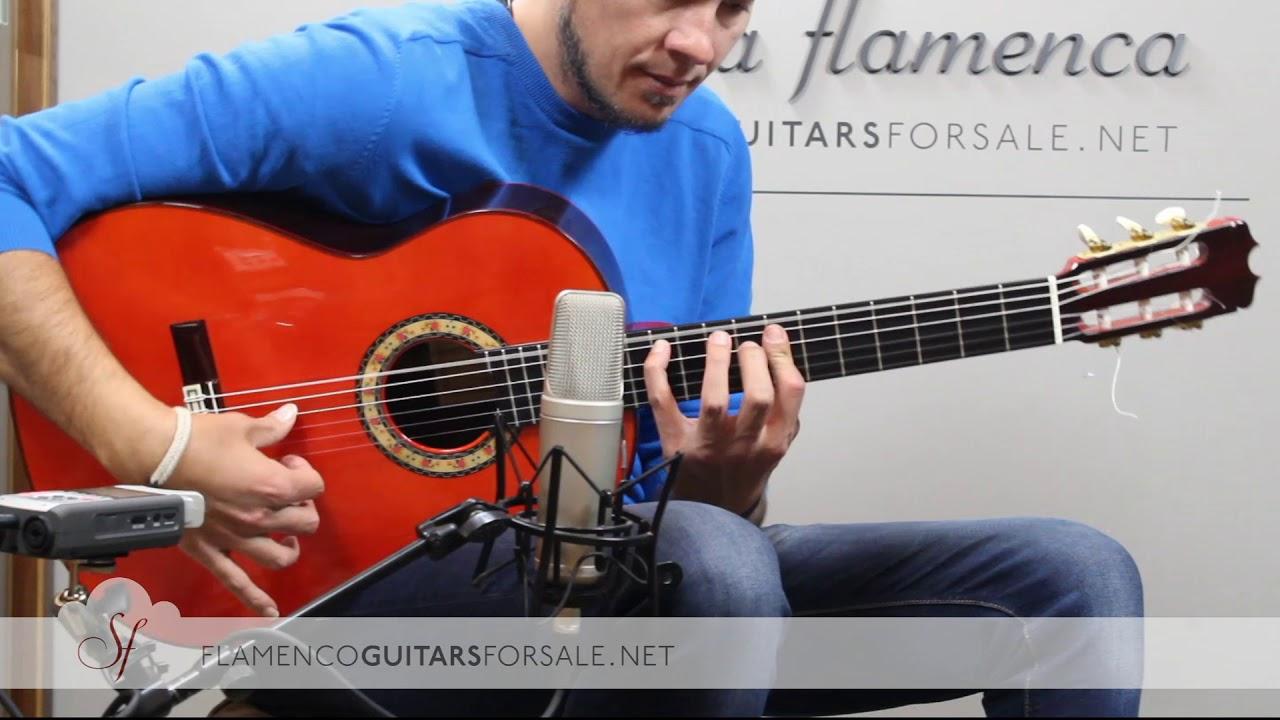 VIDEO TEST:Hermanos Conde AF25 2000 flamenco guitar for sale