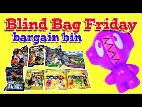 bin - Blind bag Friday bargain bin. This weeks blind bag Friday we open some bags we got from the bargain bin. We have some Angry Birds Star Wars, Moshi Monsters Mashems, Gogo's Crazy Bones, and...