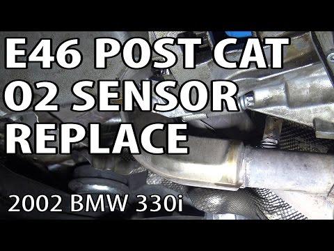 E46 Post Cat Oxygen Sensor Replacement #m54rebuild 3