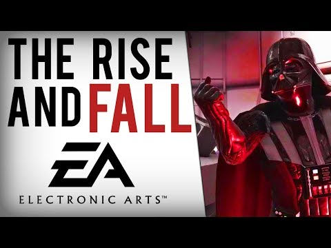 The Rise and Fall of EA (Electronic Arts) (видео)