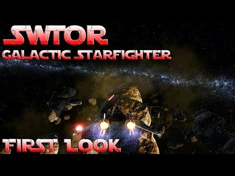 SWTOR – Galactic Starfighter – First Look + Gameplay