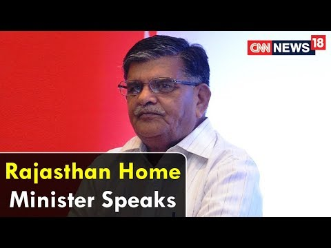 Video Rajasthan Home Minister Speaks To Epicentre | CNN News18 download in MP3, 3GP, MP4, WEBM, AVI, FLV January 2017