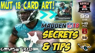 Madden 18 Long Shot Gameplay, Madden 18 Gameplay & New Madden 18 Ultimate Team Gameplay, Madden 18 MUT 18 Card Art Leaks, madden 18 New Features Including On field Realism will be available soon! This Video will explain exactly how to get your Madden 18 ultimate team ready for battle at launch with all the MUT 18 Secrets Tips & tricks that i Use! Jay Z's new album 4:44 is the NEW Michael Jackson Thriller, Don't @ ME! Just sharing my thoughts while I was making this video! Website: https://bit.ly/GmiasWorldWebsite -Watch my YouTube vids, download my free albums, listen to my podcasts!Twitter: https://bit.ly/GmiasWorldTwitter -Easiest way to contact me, enter giveaways & know when I'm livestreaming!Twitch: http://bit.ly/GmiasWorldTwitch-Watch me stream live, be part of giveaways & MORE!I still do podcasts, but it's on another channel:https://bit.ly/GmiaYouTubeI play other games also, Check out some NBA 2K here: https://www.youtube.com/playlist?list=PLgaB7bFsKcslF7VZ8Dc0Y1vKfkCJ_EAEbHOW TO GET MADDEN 18 ULTIMATE TEAM PLAYERS NOW!  MUT 18 NEW CARD LEAK! MUT 18 SECRETS TIPS & TRICKS