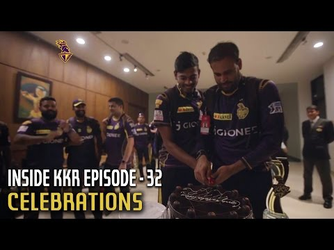 Celebrations | Inside KKR - Episode 32 | VIVO IPL 2016
