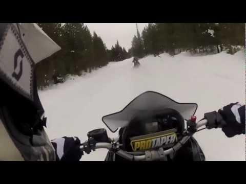 Yellowstone in Motoslitta 2013