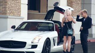 Blachara szybko zmienia zdanie na widok auta!