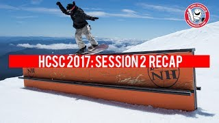 You know the drill. Summer snowboarding at its finest on Mt. Hood with the HCSC crew. Session 2 recap from the 2017 season features Reid Smith, Mark Wilson, Max Warbington, Jordan Morse, Gabe Ferguson, Ben Ferguson, Jed Sky, Dru Brownrigg, River Richer, Vinny, Dusty Miller, Brendon Rego, Al Grogan, Rob Roethler, Mike McDaniel, Nate Carroll, Nick Erickson, Pat Fava, Oliver Dixon, and Luke Winkelmann.Filmed by Jake Howell, Brent McCarron, Zak Peterson, Miles Perreault, Colton Feldman, and Tyler Orton. Edited by Jake Howell.