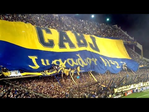 Boca Juniors Vs Union - Great Support From Fans/Ultras At La Bombonera Stadium