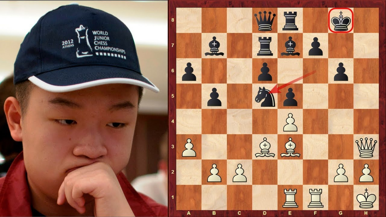 "An absolutely insane immortal chess game by Wei Yi ! – ""Game of the Decade"" is Susan Polgar's tweet!"