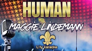 Maggie Lindemann - Human 🎃 (Karaoke Version)