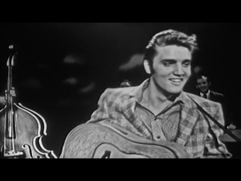 "Elvis Presley ""Hound Dog"" (September 9, 1956) on The Ed Sullivan Show"