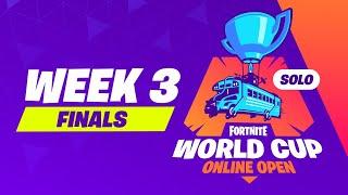 Fortnite World Cup Week 3 Finals