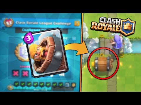 NEW CARD BARBARIAN BARREL! NEW CARD UPDATE! | Clash Royale | 20 WIN CHALLENGE GAMEPLAY! (видео)