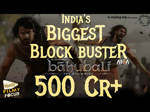 Baahubali becomes first non Hindi film to collect 500 crore.