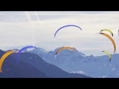 Παγκόσμιο κύπελλο snowkiting στις Αυστριακές Άλπεις