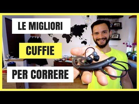 I MIGLIORI AURICOLARI PER CORRERE - cuffie bluetooth Sony MDR-XB80BS