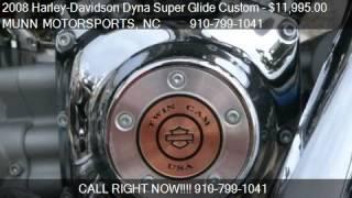 8. 2008 Harley-Davidson Dyna Super Glide Custom 105th Anniversa
