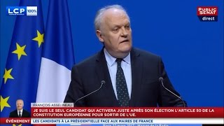 Video François ASSELINEAU - Invité de l'Association des Maires de France - LCP & Public Sénat - 22/03/2017 MP3, 3GP, MP4, WEBM, AVI, FLV Oktober 2017