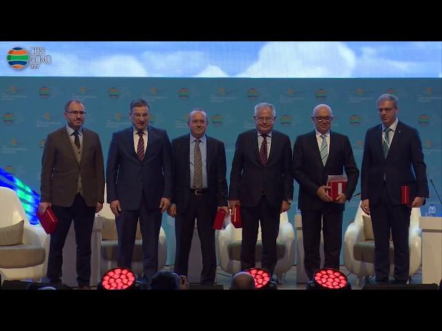 2. Panel Akıllı Şehirler için Yenilikçi Uygulamalar Paneli Katılım Plaketi (01 Aralık 2017)